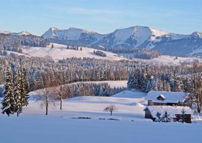 Hochgrat_Winter © Kultur und Tourismusamt Lindenberg