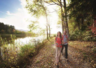 Auf der Wasserläuferroute der Wandertrilogie Allgäu unterwegs © Allgäu GmbH
