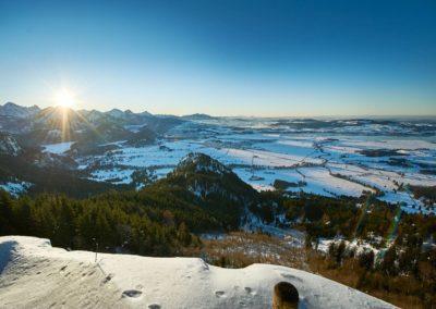 Winterlandschaft im Allgäu © Allgäu GmbH